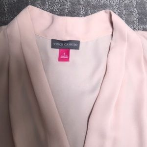 Vince Camuto Ice Pink Tank Blouse Size S